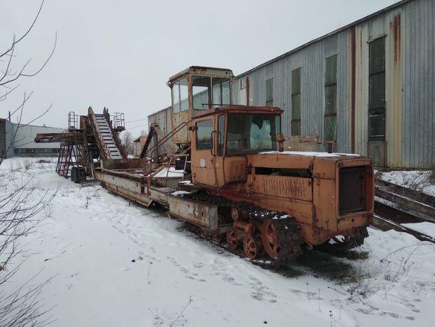 Буртоукладочная машина (Буртоукладчик) БУМ 65М3-К