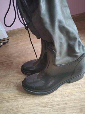 Kozaki kalosze damskie buty 38