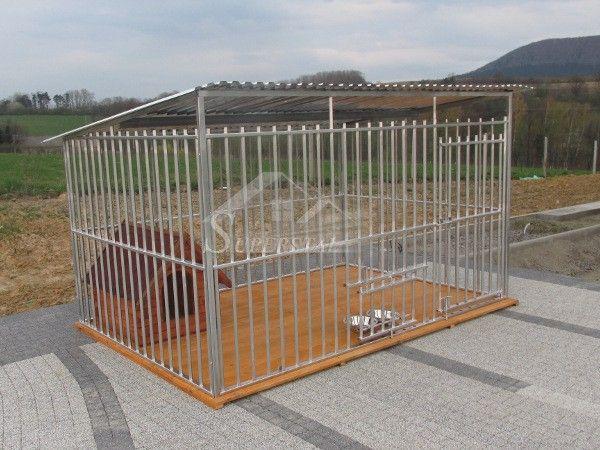Kojec dla psa 2.5x2.5+uchwyty+podłoga, dowóz, każdy wymiar, PRODUCENT