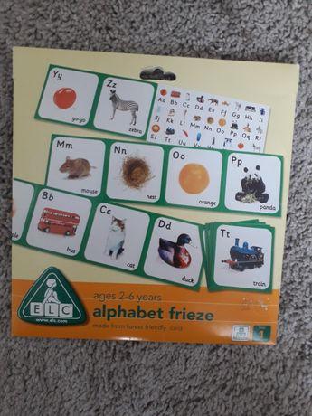 Alphabete frieze firmy ELC do nauki języka angielskiego