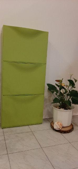 Ikea Szafka/szafki na buty zielona pcv/ rezerwacja do 2.11