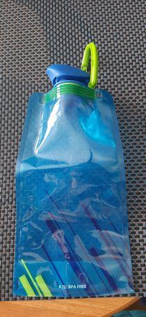 Elastyczna butelka turystyczna