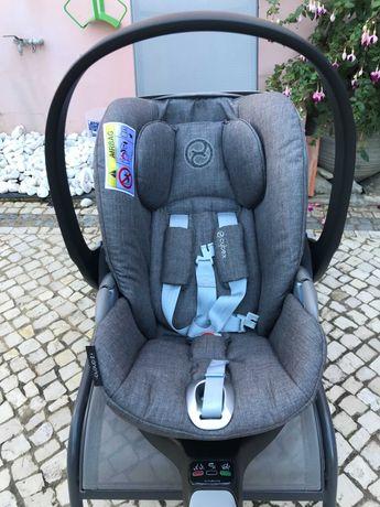 Cadeira Automóvel Cybex + Base rotativa Isofix (praticamente nova)