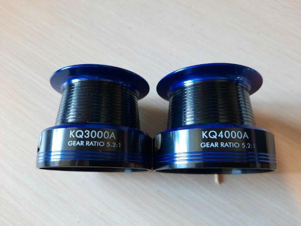 Продам новые алюминиевые шпули к катушкам KQ 3000A и KQ 4000A