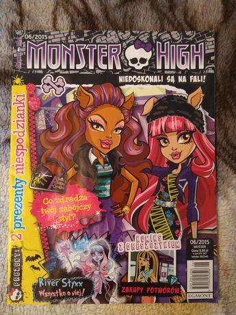 monster high magazyn