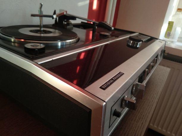 Gramofon Radio National Panasonic SG-990L + kolumny | Retro