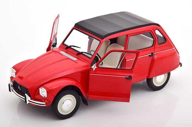Miniatura 1:18 - Citroen Dyane 6 – Rouge Corsaire - 1968