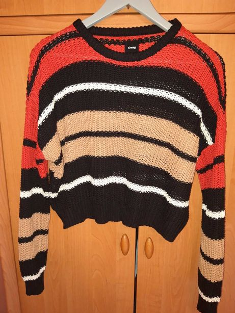 Sweter w pasy sinsay