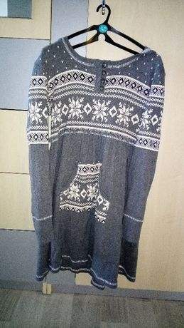 платье теплое рр 140