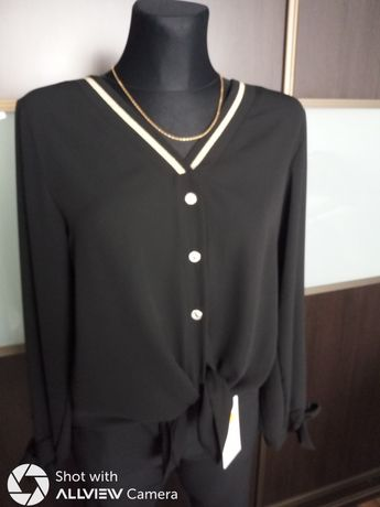 Czarno złota bluzka