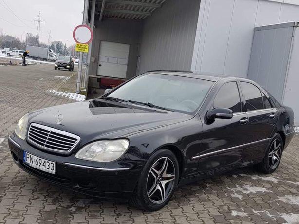 Mercedes S320 CDI 197KM * W220 * Navi * Skóra * Śliczna * 2002