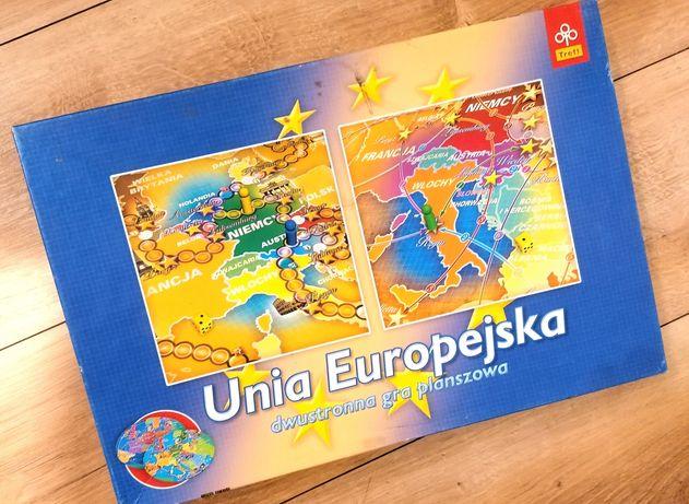 Dwustronna gra planszowa Unia Europejska Trefl edukacyjna