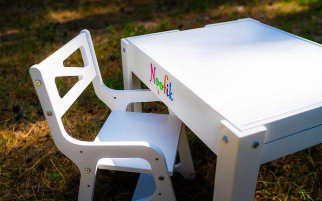 АКЦИЯ!!!Растущий комплект: детский световой стол-песочница+стул