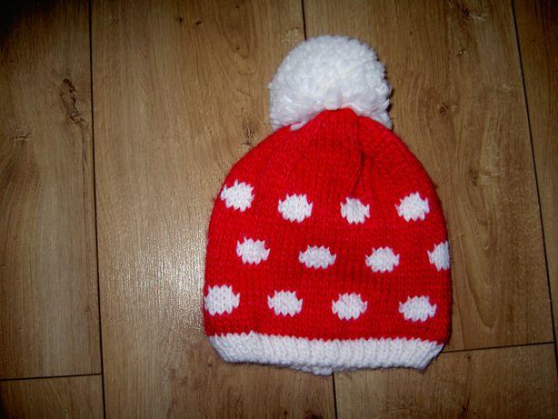 Czapka czapeczka dla dziewczynki 2-4 lata