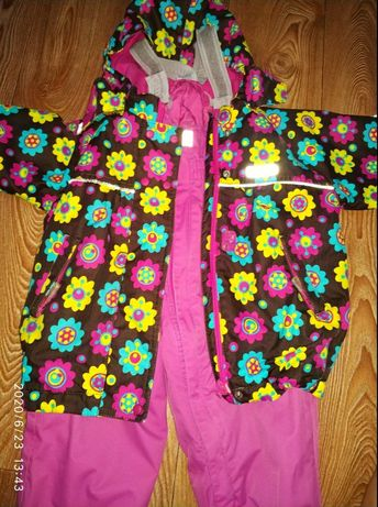 зимний полукомбинезон (куртка +штаны) Reima 86/92