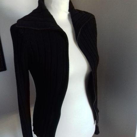 Czarny swetr rozpinany firmy edc rozm M