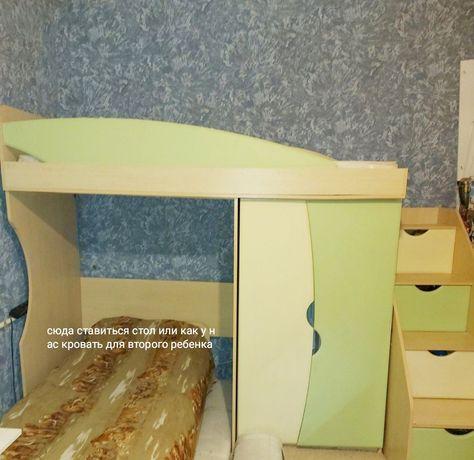 Кровать горка в детскую