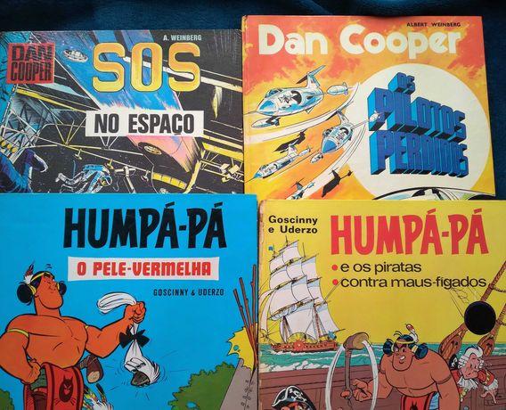 Humpá-Pá + Dan Cooper (primeira ed.)