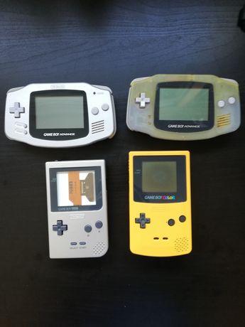 Lote Gameboy para peças ou reparação / Game Boy /Advance pocket Color