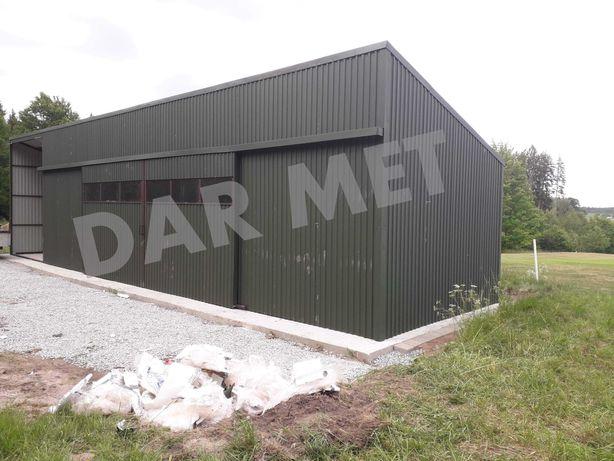 Hala Garaż Wiata Warsztat Magazyn Konstrukcja Stalowa Projekt Dar Met