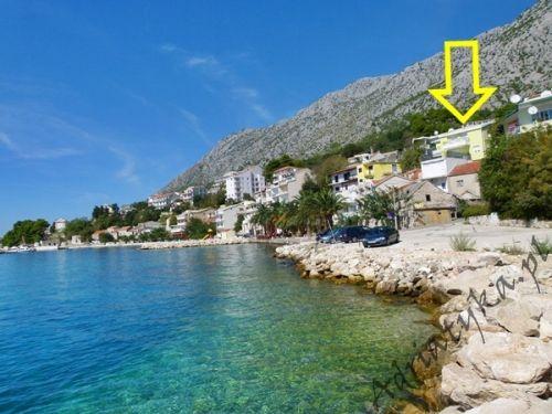 Chorwacja Zivogosce Makarska Apartament Nocleg Dom Wakacje Plaża 90 m