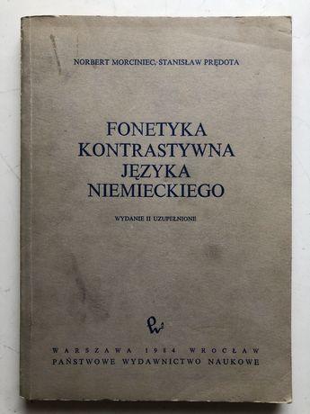 Fonetyka kontrastywna j.niem. N. Morciniec. S. Prędota