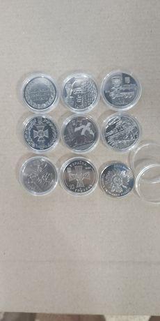 Юбилейные Монеты Украина 10гривен в капсулах.