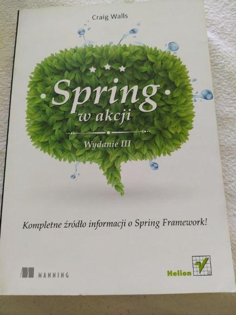 Spring w akcji Wydanie 3 III - Craig Walls - Helion