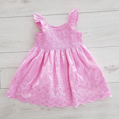 Letnia sukienka dziecięca roz. 86