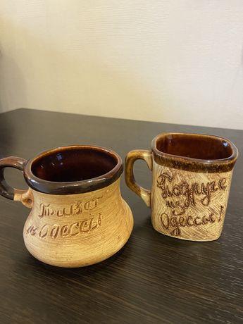 Чашки сувенирные «Привет из Одессы»