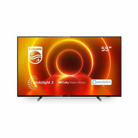 """TV Philips PUS 7805 55""""LED 4K UHD. Fatura passada ao comprador"""
