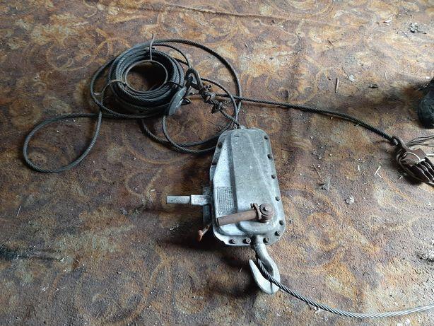 Wyciągarka linowa WL-16 ,wyciąg linowy,lina stalowa ,uciąg 1600 kg