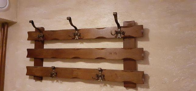 Drewniany wieszak na ubrania - Suwałki