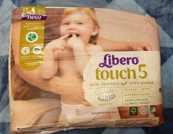 Подгузники Libero touch 5 (10-14kg, 42 шт.)