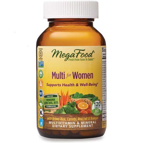 Megafood Multi for Women Мультивитамины для Женщин 120т, ОРГАНИКА США