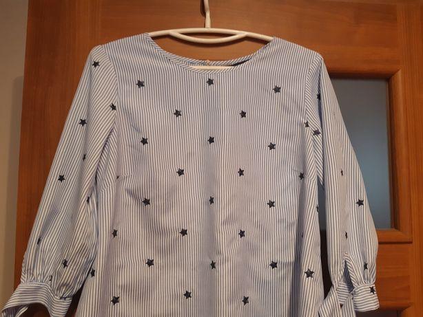 Koszula bluzka 40 FF jak nowa L