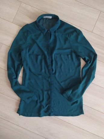 блуза bershka смарагдового кольору м по бірці 185грн