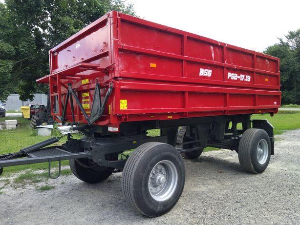 Przyczepa rolnicza Brandyd Bss Ps2 17.13 wywrotka 13 ton(80.11,16.12)