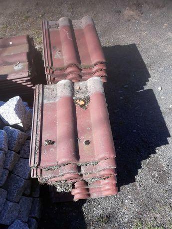 dachówka  używana z rozbiórki IBF około 50szt