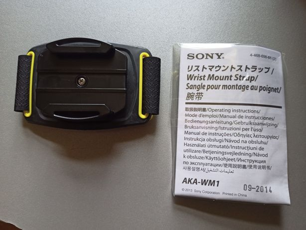 Ремешок на запястье для камеры Sony Action Cam AKA-WM1