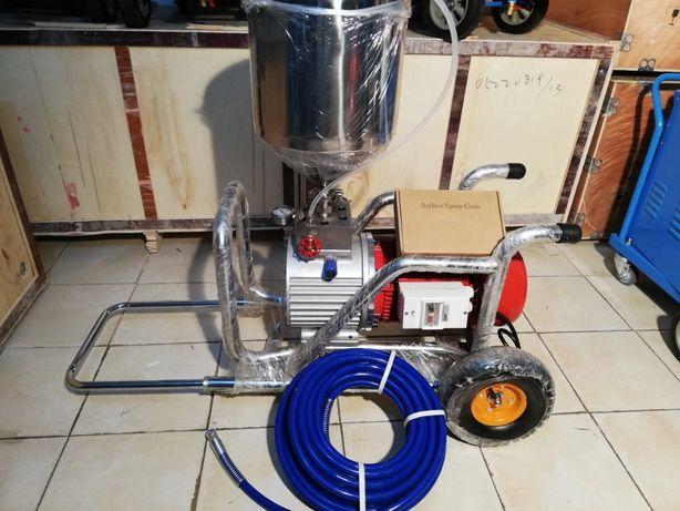 Máquina Airless para barramentos em pladur