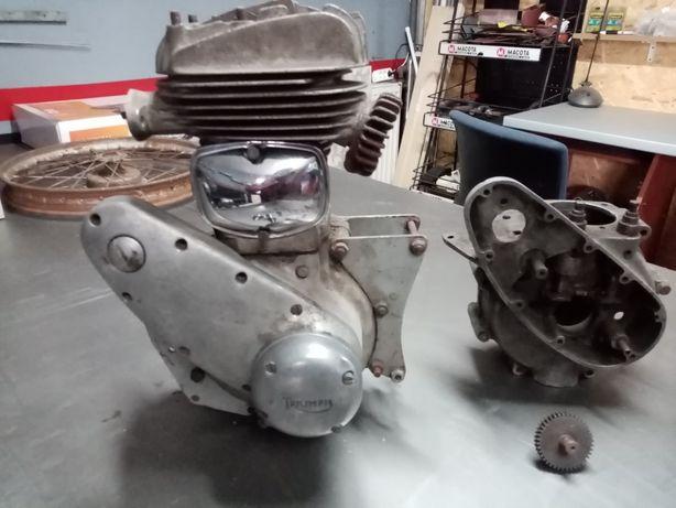 Silniki TRIUMPH model 3/1 350 ccm angielski bsa ajs ariel norton nsu