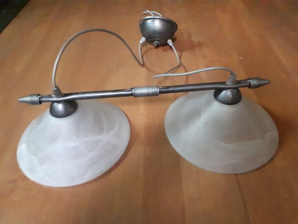 Lampa sufitowa podwójna