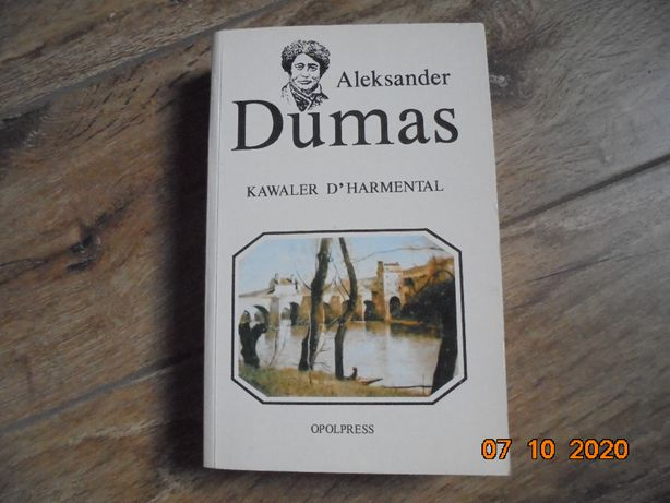 Książka Aleksander Dumas - Kawaler D'Harmental