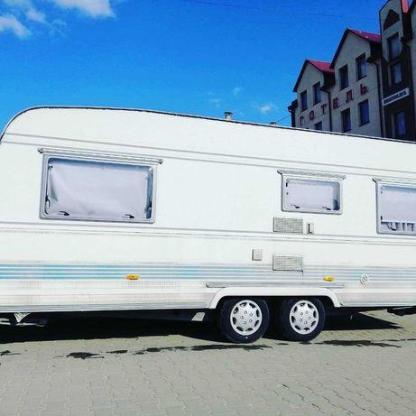 Свіжий Tec Weltbummler 590 двох - осний, караван, прицеп, трейлер кемп