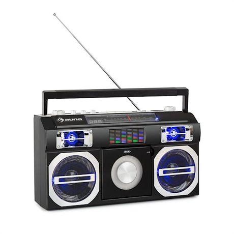 Auna radio odtwarzacz z 80 lat CD BT USB MP3 FM