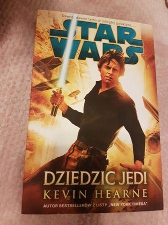 Star Wars Dziedzic Jedi kiążka