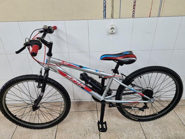 Bicicleta roda 24 marca berg