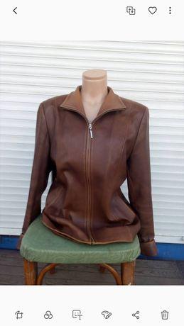 Кожаная куртка 4XL