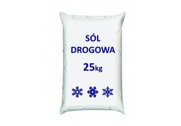 Sól drogowa pakowana 25 kg
